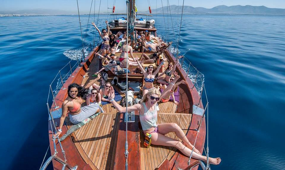 A full day sailing in the Saronic